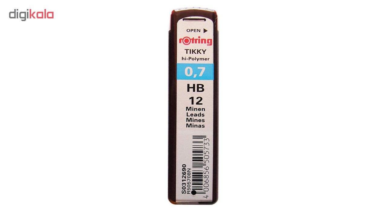 مداد نوکی 0.7 میلیمتری روترینگ مدل Tikky به همراه نوک 0.7 میلیمتری روترینگ main 1 2