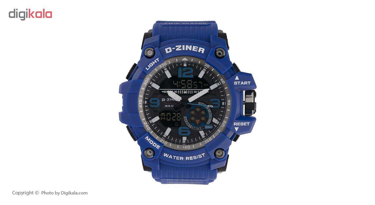 خرید ساعت مچی عقربه ای مردانه دیزاینر مدل D-Z7032