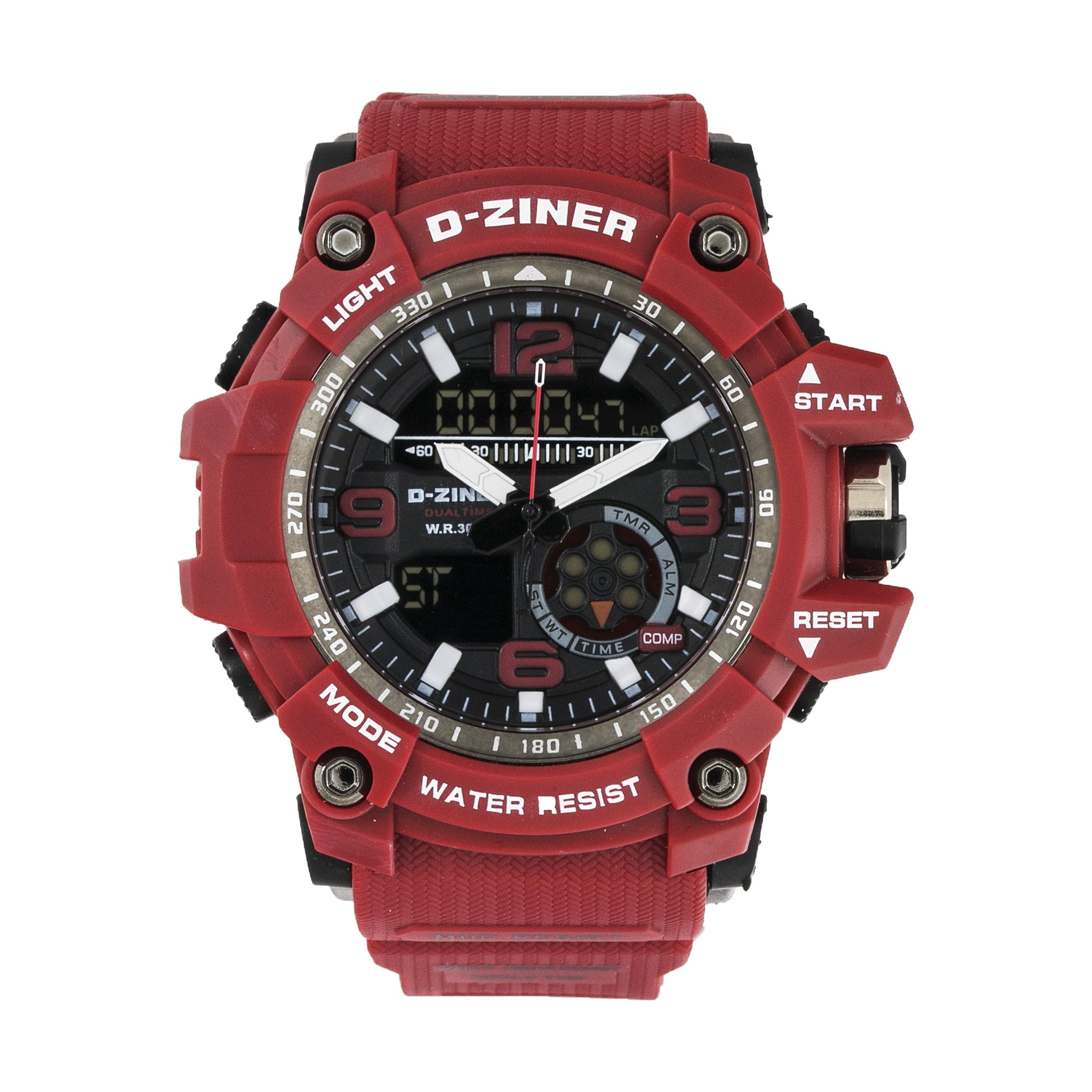 ساعت مچی عقربه ای مردانه دیزاینر مدل D-Z7048