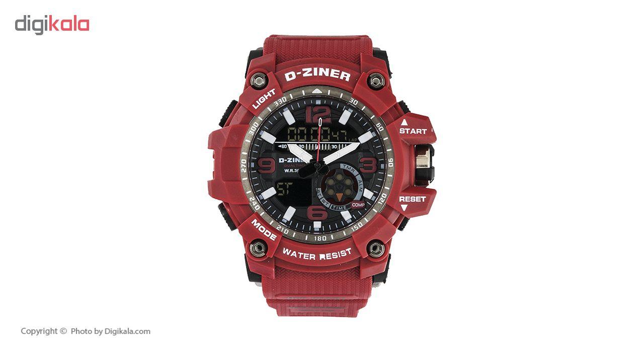خرید ساعت مچی عقربه ای مردانه دیزاینر مدل D-Z7048