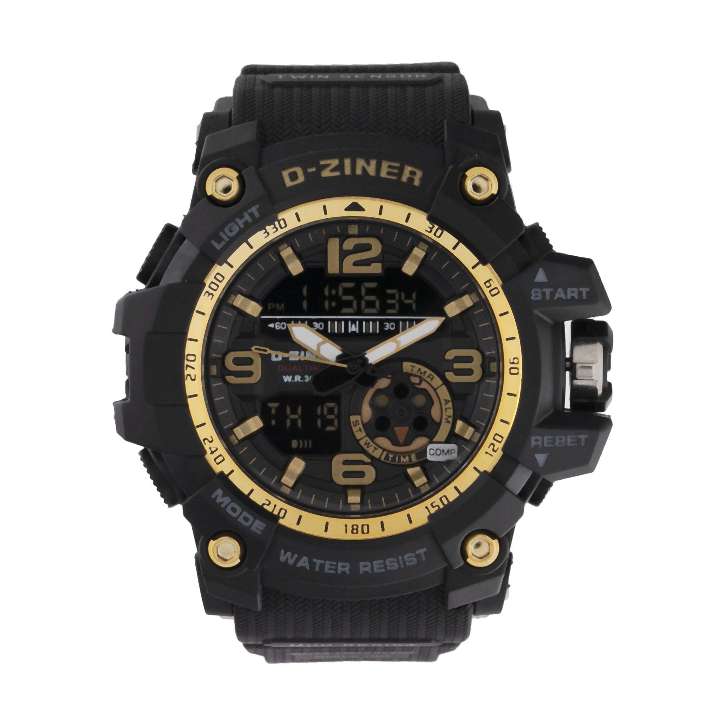 ساعت مچی عقربه ای مردانه دیزاینر مدل D-Z7040