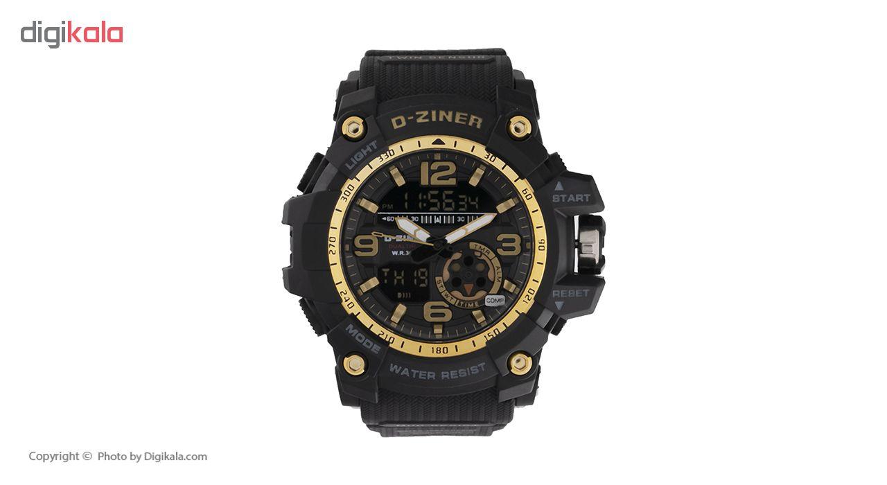 خرید ساعت مچی عقربه ای مردانه دیزاینر مدل D-Z7040