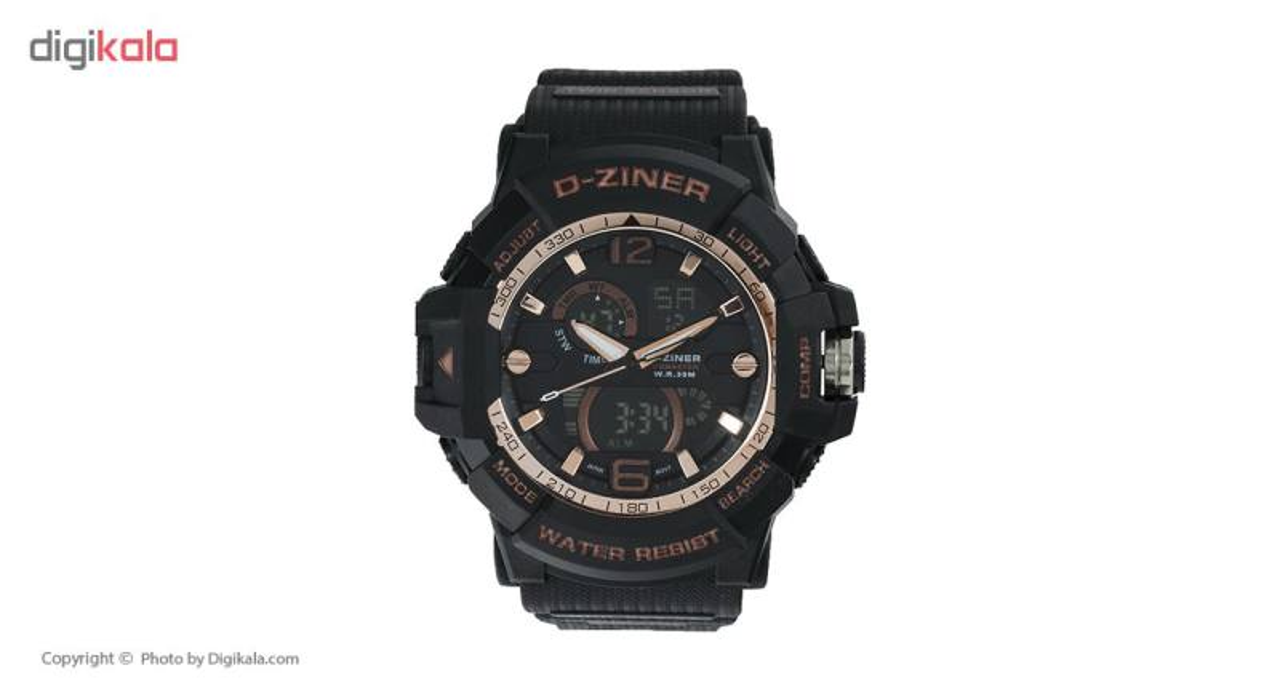 خرید ساعت مچی عقربه ای مردانه دیزاینر مدل D-Z7039