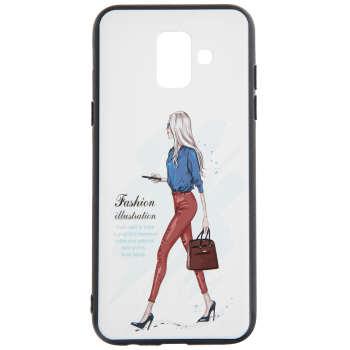 کاور مدل Beauty طرح Fashion-I مناسب برای گوشی موبایل سامسونگ Galaxy A6 Plus 2018