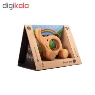 اسباب بازی چوبی لیموکیدز طرح فیل