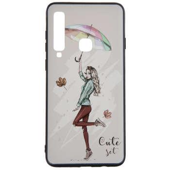 کاور مدل Beauty طرح Cute set مناسب برای گوشی موبایل سامسونگ Galaxy A9 2018