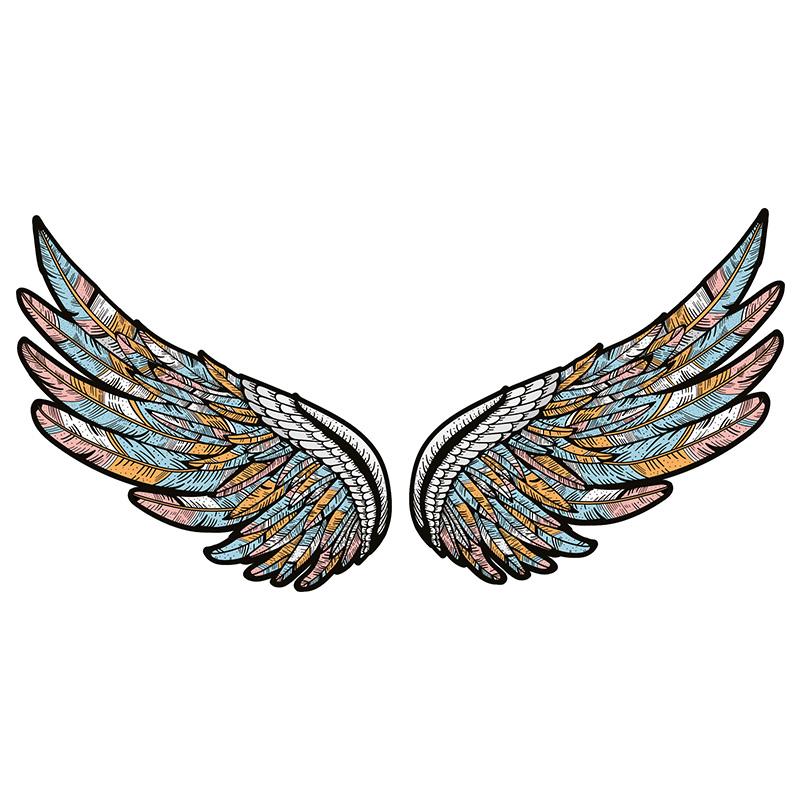 استیکر لپ تاپ طرح wings کد 01 thumb