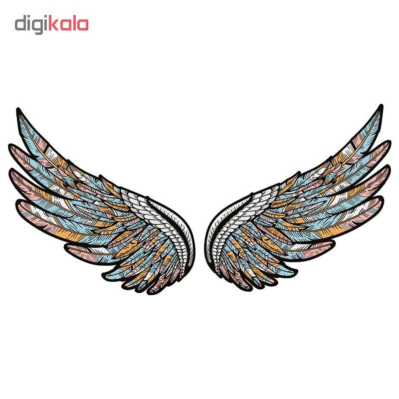 استیکر لپ تاپ طرح wings کد 01 main 1 1
