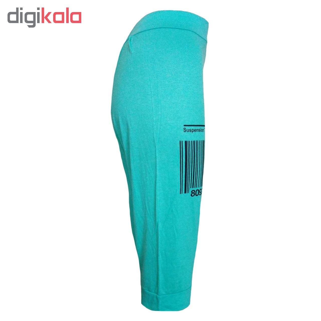 خرید                                      شلوارک زنانه طرح بارکد کد 00AF