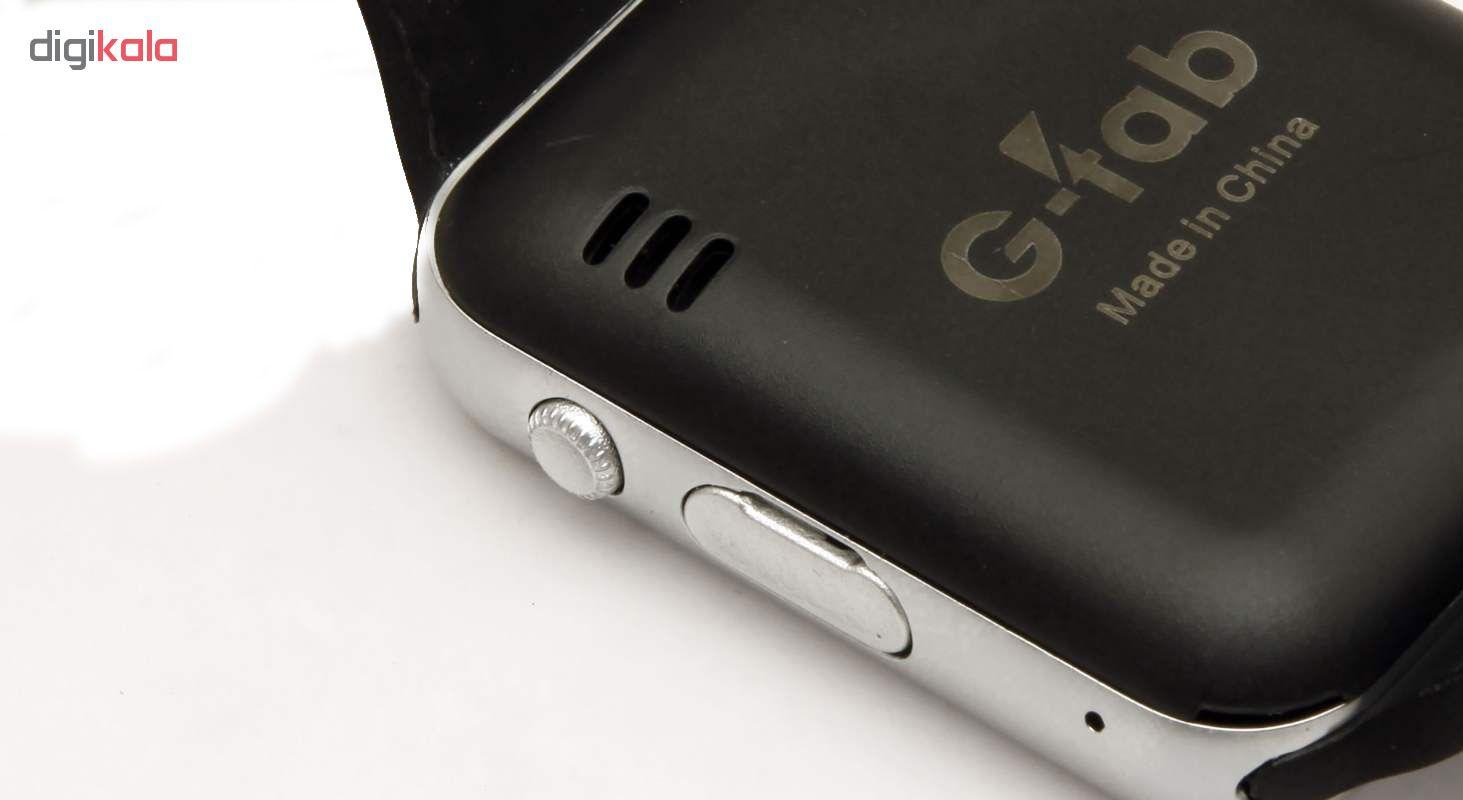 ساعت هوشمند جی تب مدل W101  همراه محافظ صفحه نمایش شیدتگ thumb 6