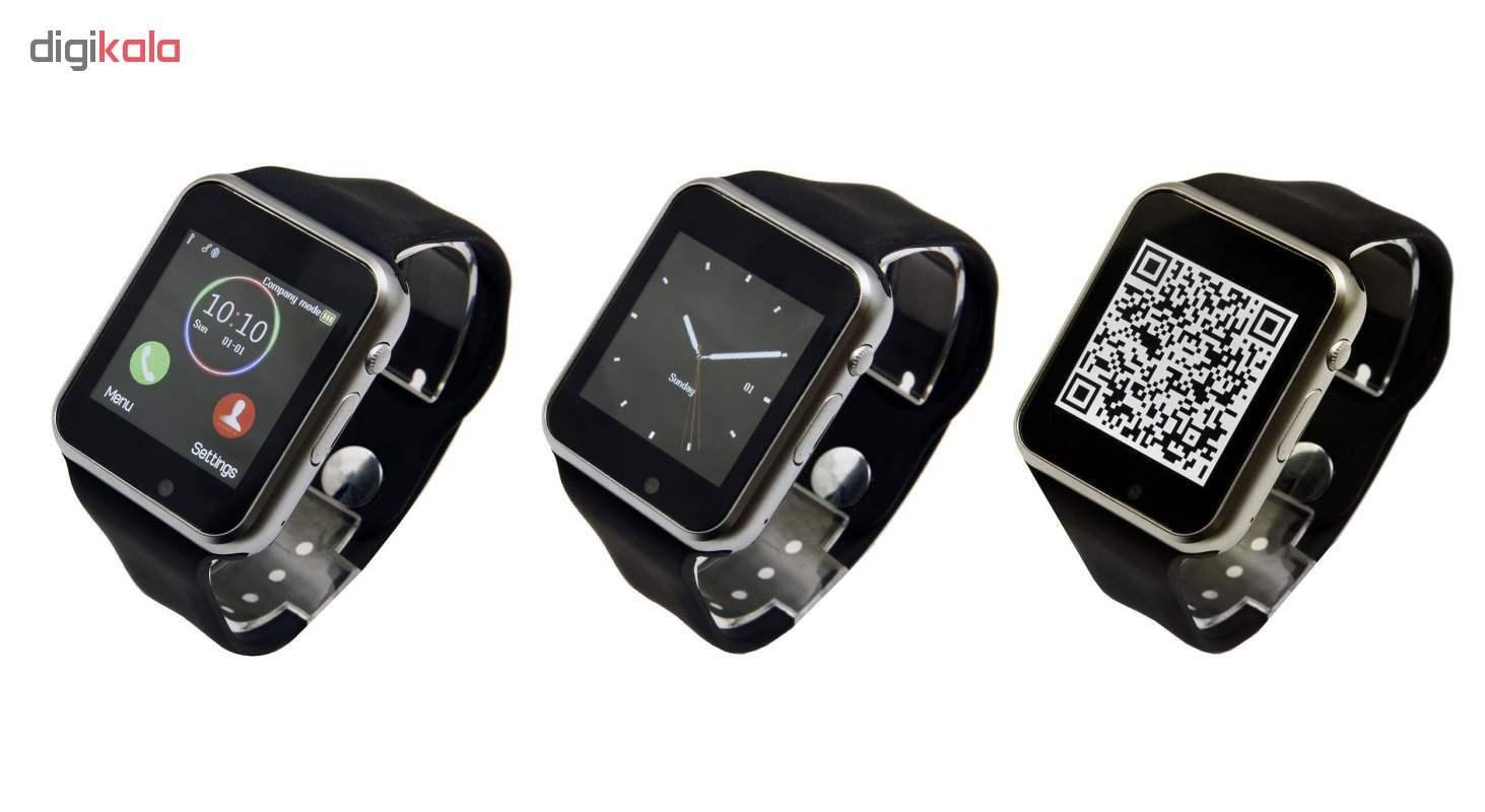 ساعت هوشمند جی تب مدل W101  همراه محافظ صفحه نمایش شیدتگ thumb 7