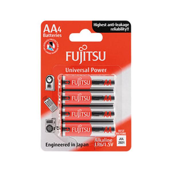 باتری قلمی فوجیتسو مدل LR6 Univeisal Power بسته 4 عددی