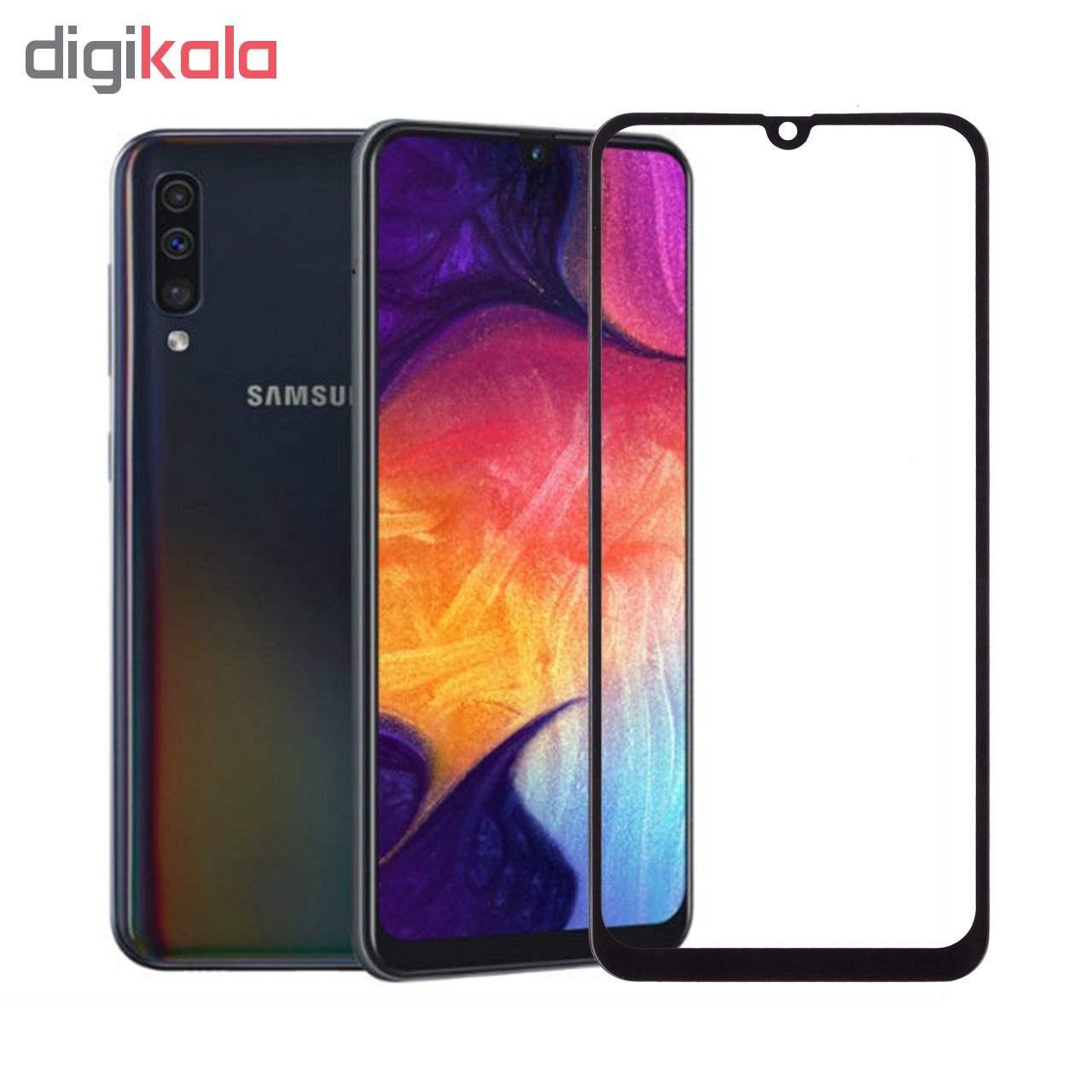 محافظ صفحه نمایش 5D  مدل D22 مناسب برای گوشی موبایل سامسونگ Galaxy A50 thumb 3