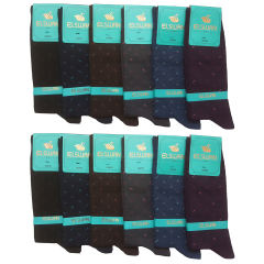 جوراب مردانه ال سون کد PH83 مجموعه 12 عددی