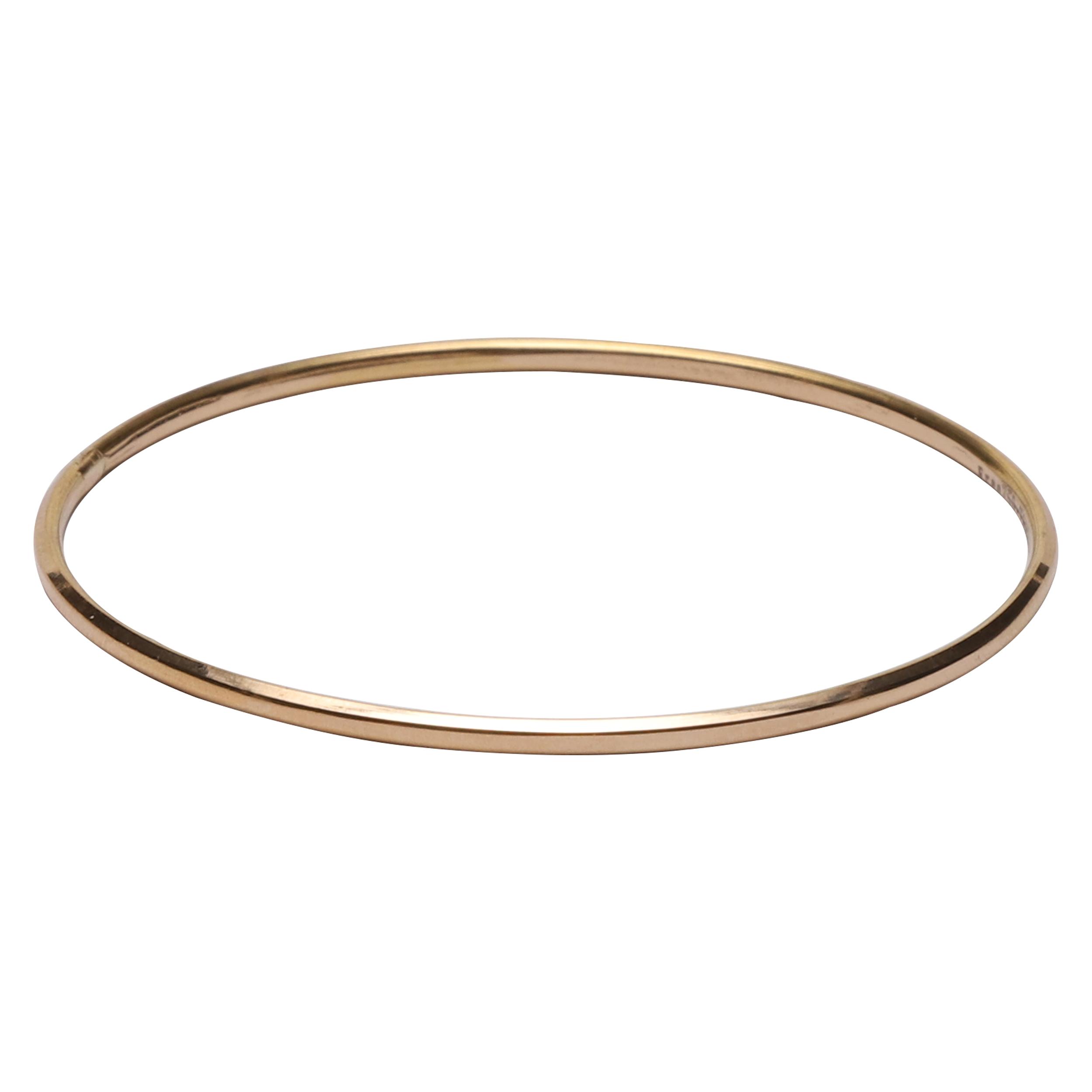 قیمت النگو طلا 18 عیار گوی گالری مدل G262