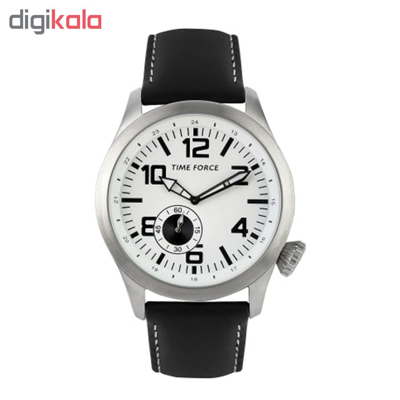 ساعت مچی مردانه تایم فورس مدل TF3367M02