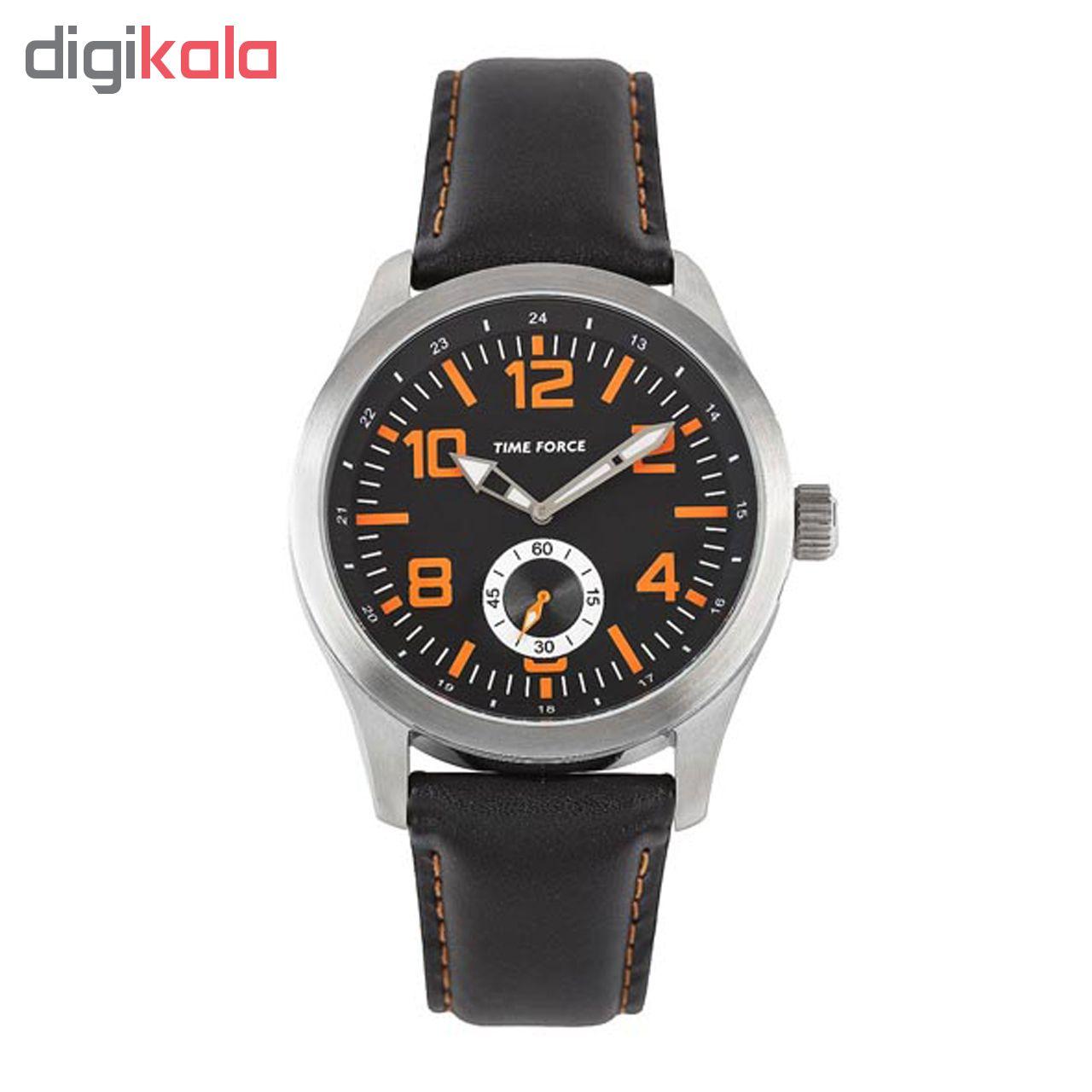خرید ساعت مچی عقربه ای مردانه تایم فورس مدل TF3367M12 | ساعت مچی