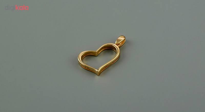 آویز طلا 18 عیار جواهری سون مدل 2259