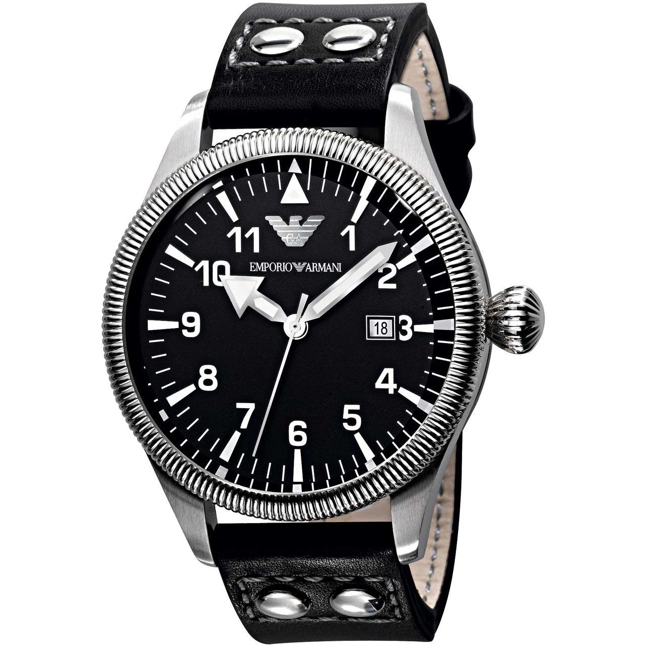 ساعت مچی عقربه ای مردانه امپریو آرمانی مدل AR5834