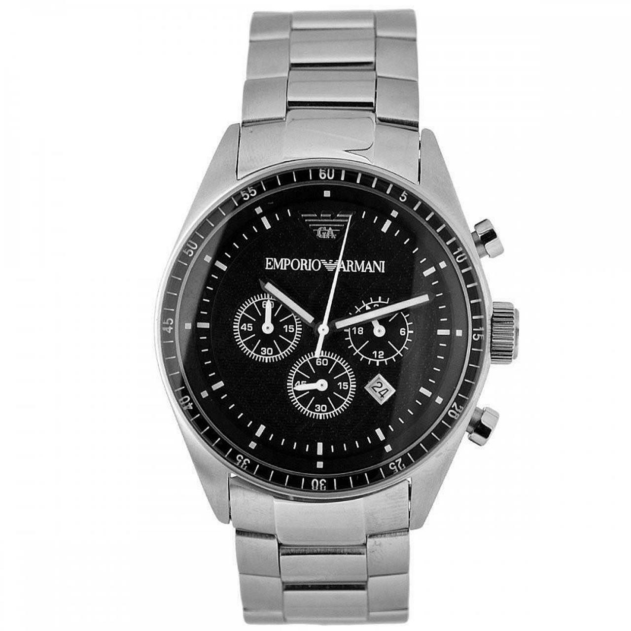 ساعت مچی عقربه ای مردانه امپریو آرمانی مدل AR0585 6