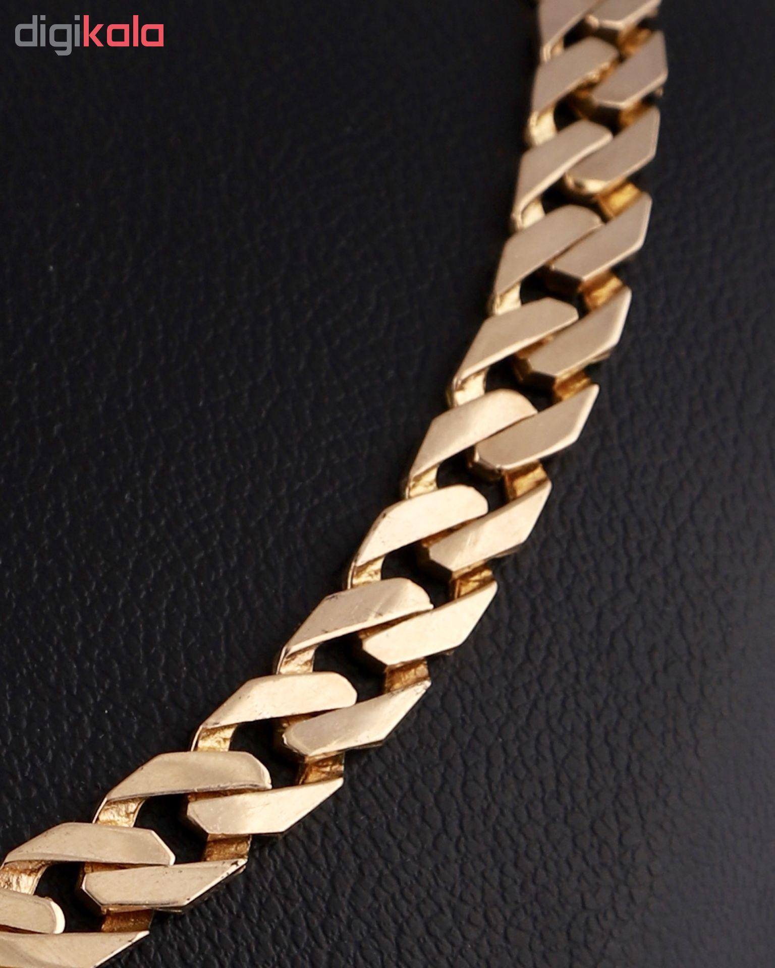 گردنبند طلا 18 عیار گوی گالری مدل G290
