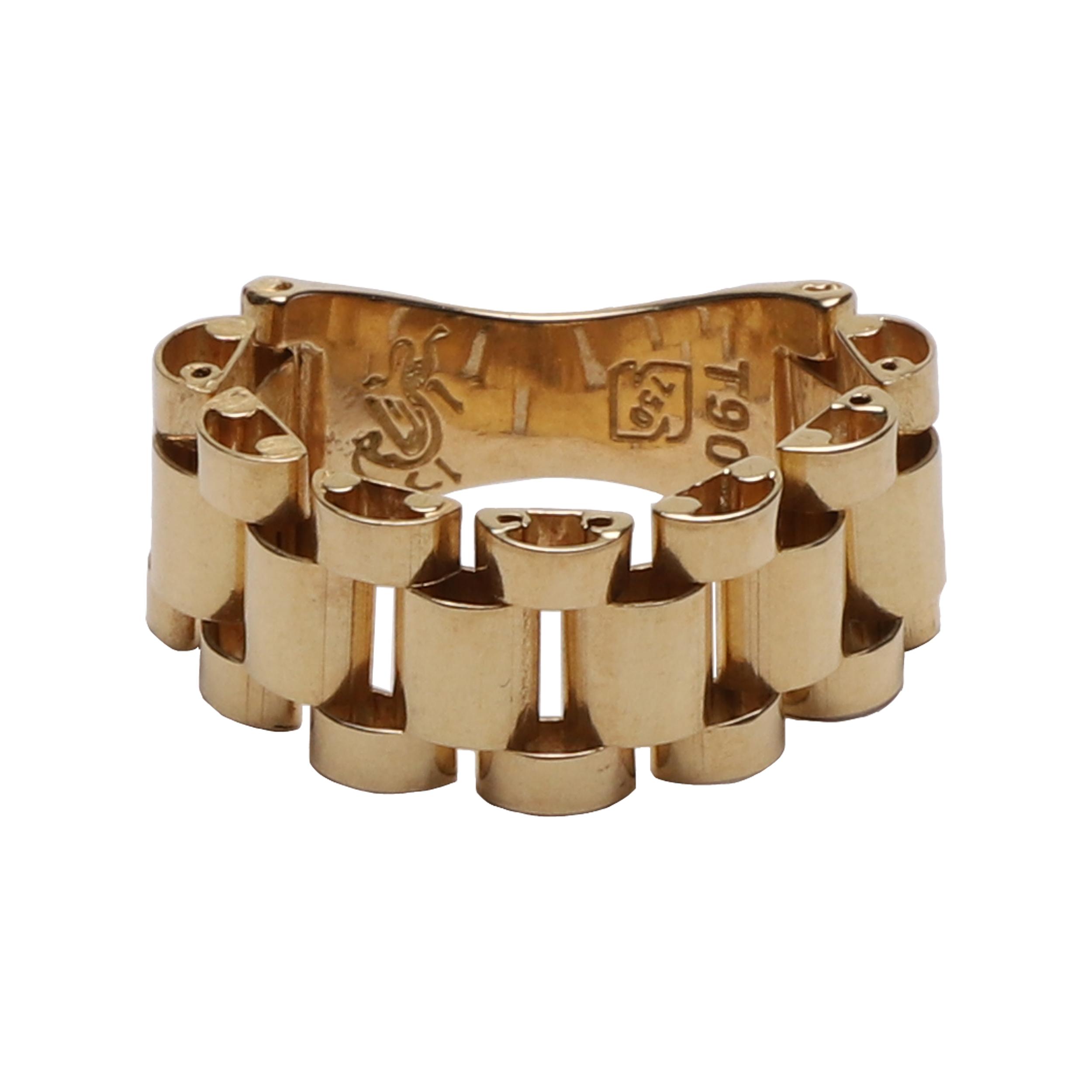 قیمت انگشتر طلا 18 عیار زنانه مدل G299