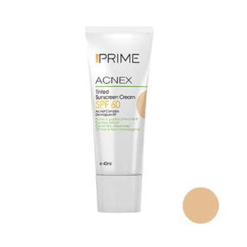 کرم ضد آفتاب پریم مدل Acnex Tinted حجم 40 میلی لیتر