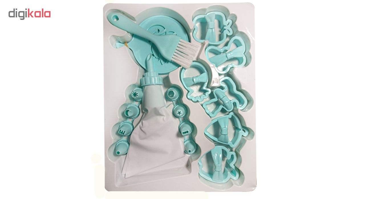 ابزار شیرینی پزی کیو لوکس مدل L_480 مجموعه 21 عددی thumb 2
