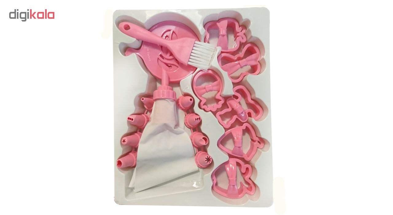 ابزار شیرینی پزی کیو لوکس مدل L_480 مجموعه 21 عددی main 1 3