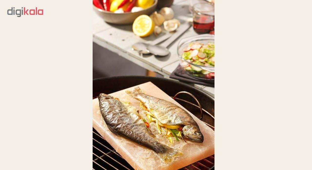 تخته گوشت و پخت و پز سنگ نمک مدل cook main 1 3