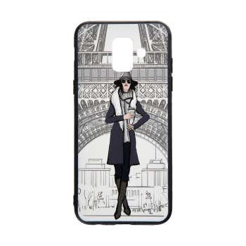 کاور مدل Beauty طرح Paris مناسب برای گوشی موبایل سامسونگ Galaxy J6 Plus 2018