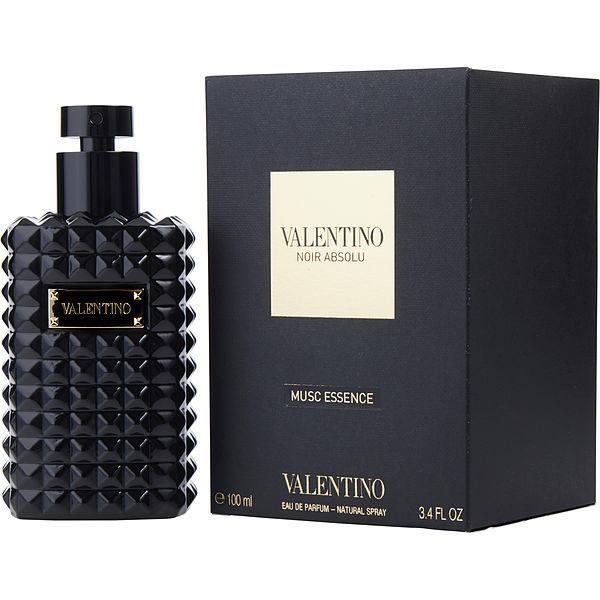 ادو پرفیوم ولنتینو مدل noir absolu musc essence حجم ۱۰۰ میلی لیتر