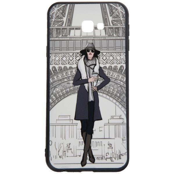 کاور مدل Beauty طرح Paris مناسب برای گوشی موبایل سامسونگ Galaxy J4 Plus 2018