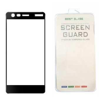 محافظ صفحه نمایش فول کاور مدل 3D Best Glass مناسب برای گوشی موبایل nokia 2