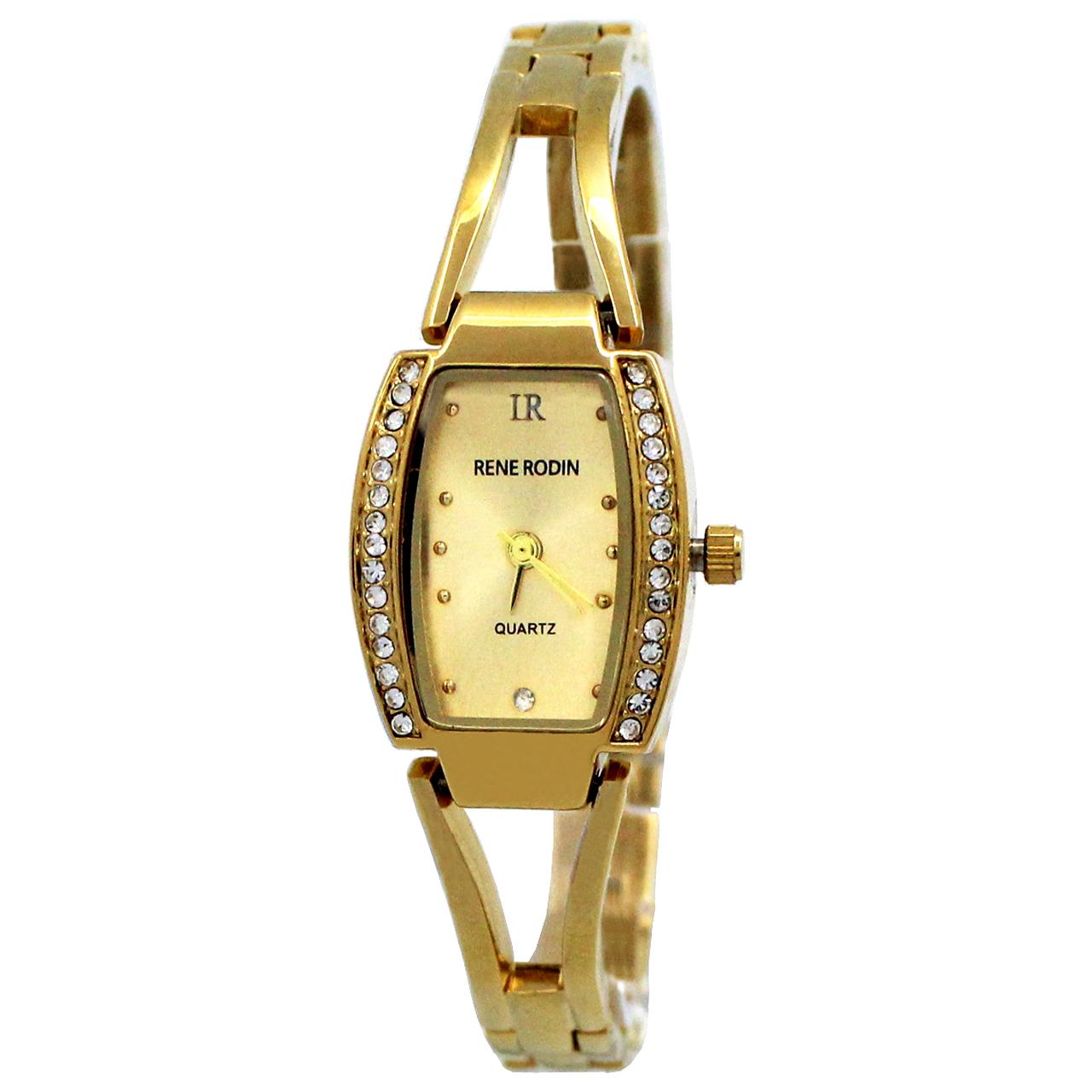 ساعت مچی عقربه ای زنانه رنه رودین مدل DGZU-0164 17