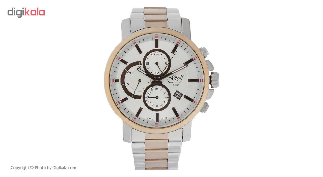 خرید ساعت مچی عقربه ای مردانه گلف مدل 127-4