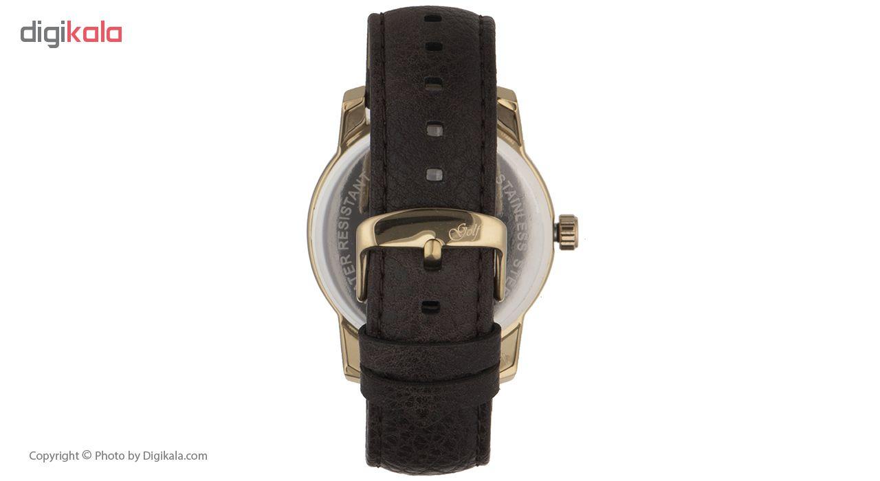 ساعت مچی عقربه ای مردانه گلف مدل 124-3