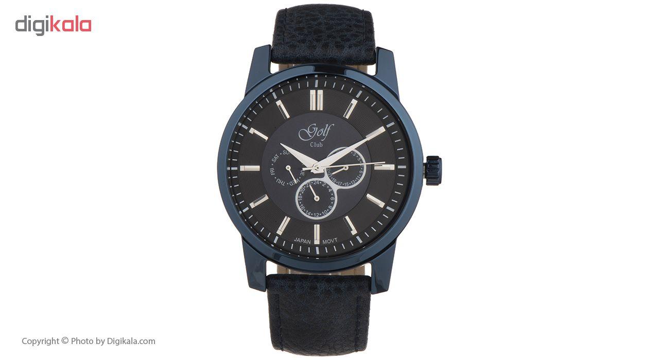 خرید ساعت مچی عقربه ای مردانه گلف کلاب مدل 124-2