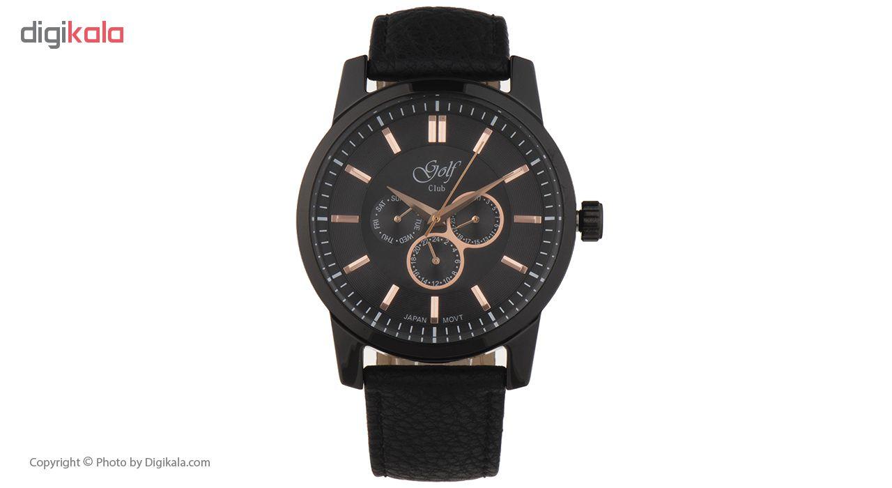 خرید ساعت مچی عقربه ای مردانه گلف مدل 124-4