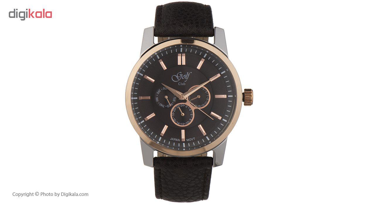 خرید ساعت مچی عقربه ای مردانه گلف مدل 124-5