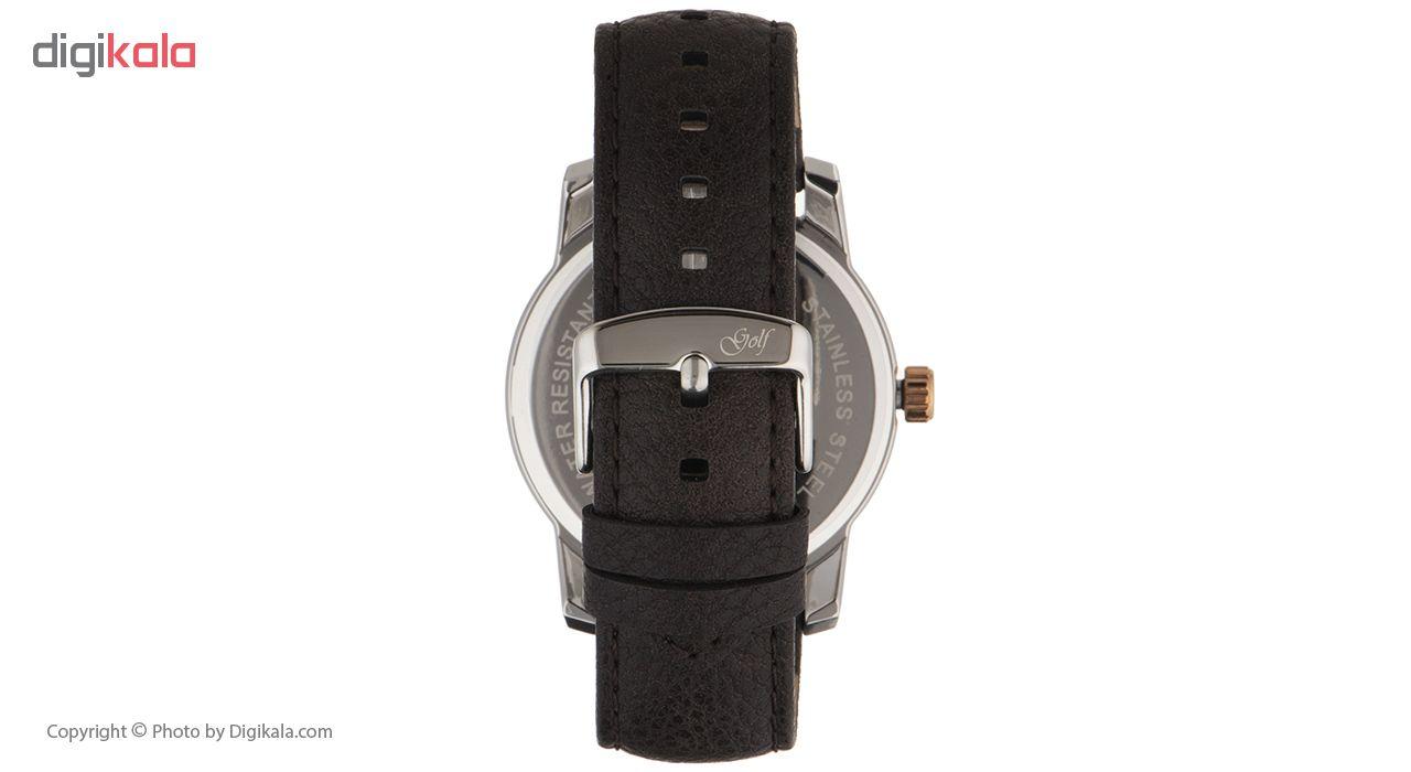 ساعت مچی عقربه ای مردانه گلف مدل 124-5