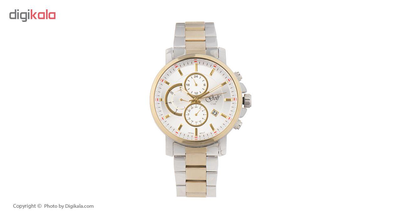 خرید ساعت مچی عقربه ای مردانه گلف مدل 127-1