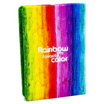دفتر یادداشت هیدورا مدل رنگین کمان