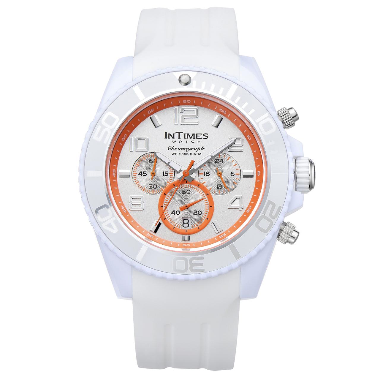 ساعت مچی عقربهای مردانه اینتایمز مدل IT-SD069.white