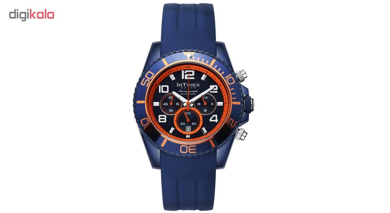 ساعت مچی عقربهای مردانه اینتایمز مدل IT-SD069.blue