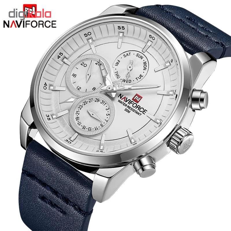 کد تخفیف                                      ساعت مچی عقربه ای مردانه نیوی فورس مدل NF9148M / SO-SE