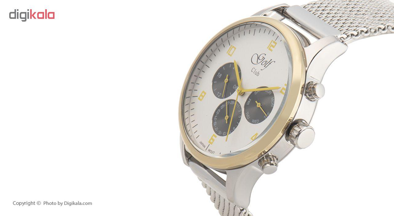 ساعت مچی عقربه ای مردانه گلف مدل 123-3