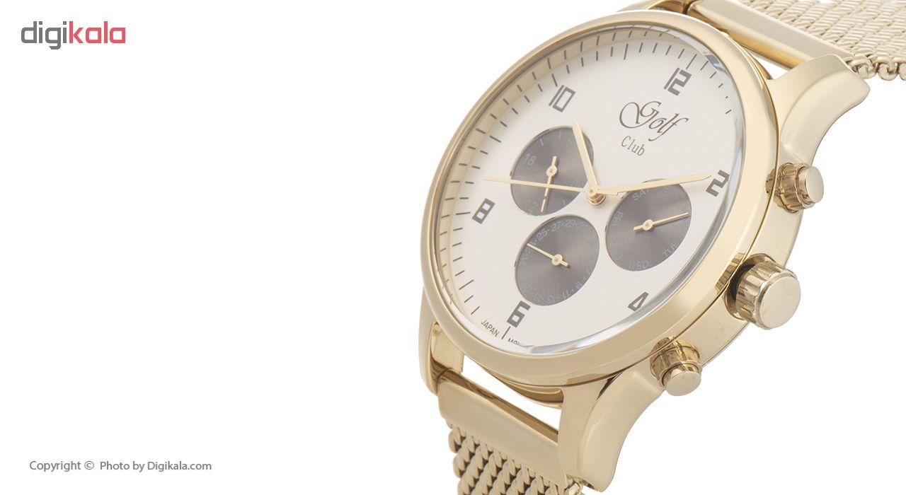 کد تخفیف                                      ساعت مچی عقربه ای مردانه گلف مدل 123-5