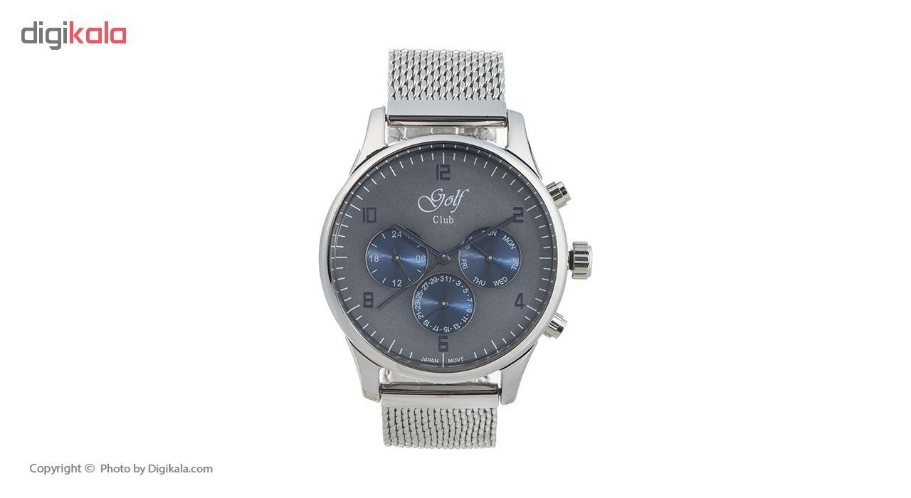 خرید ساعت مچی عقربه ای مردانه گلف کلاب مدل 123-4