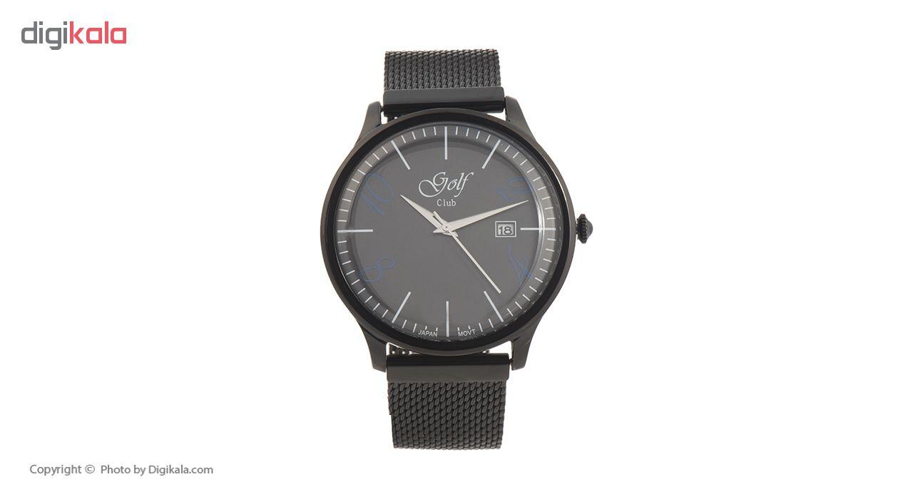 خرید ساعت مچی عقربه ای مردانه گلف کلاب مدل 123-2